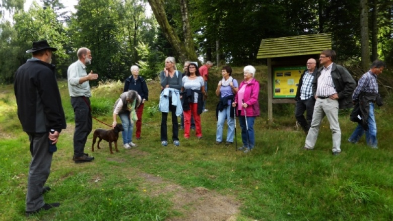 Wanderung im Langenberger Forst